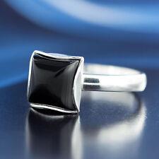 Onyx Silber 925 Ring verschiedene Größen P105