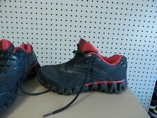 Reebok Zigtech Mens Size 9 Women's 11 Blue Red Running Training Shoes Sneakers | eBay