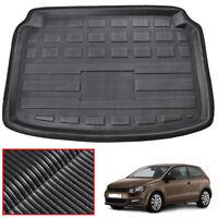 For VW Polo 6R MK5 Hatchback 10-17 Boot Cargo Liner Trunk Floor Mat Tray Carpet