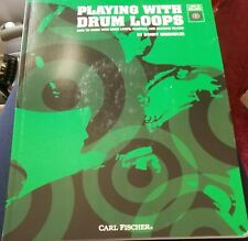 Playing With Drum Loops Songbook with 2 Cds Backing Tracks Carl Fischer 2005