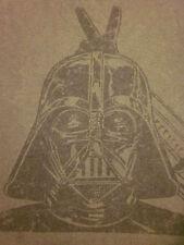STAR WARS Darth Vader small T shirt retro villain humor V-sign hand gesture tee