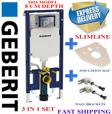 Geberit up720 8cm wc wall hung toilet frame slim cistern for studwall