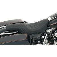 Hammock Komfort-Sitzbank f/ür Harley Davidson Road King 09-19 Touren-Sitz Craftride schwarz