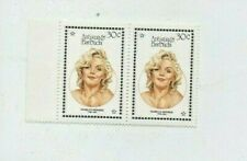 MARILYN MONROE Antigua and Barbuda 1987 30 CENT COMMEMORATIVE STAMPS