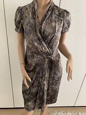 Armani Collezioni Abendkleid Kleid Seide Größe IT 42 Gr 36 S Print