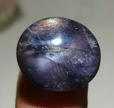 19.40 Ct Iolite Loose Gemstone Awesome Sunstone Mix Blue Oval ( Video ) Cabochon