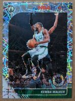 🔥💎 KEMBA WALKER 2019-20 NBA Hoops Premium Stock LAZER PRIZM Celtics #19 MINT