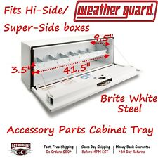 200-3 Weather Guard Steel Tool Box Storage Tray for Hi-Side Tool Box