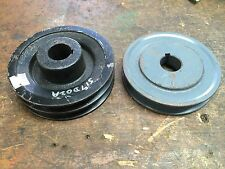GRASSHOPPER MOWER PARTS PULLEY 517D02A DOUBLE AND SINGLE PULLEY