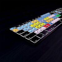 Avid Media Composer Backlit Shortcut Keyboard by Editors Keys for Mac & PC NEW