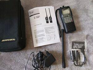 Icom IC-A24E Flugfunkgerät Airband Radio w VOR Navigation + OPC-499 Like new !!!