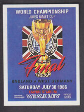 Panini - Football 84 - # 258 1966 World Cip Final - England v West Germany