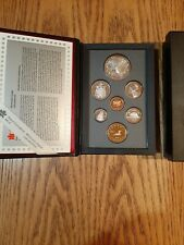 1996 Royal Canadian Mint Proof Set with original packaging and COA