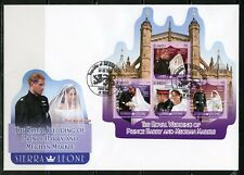 SIERRA LEONE  2018  ROYAL WEDDING OF PRINCE HARRY & MEGHAN MARKLE SHEET   FDC