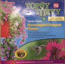 Topsy Turvy HummingBird Butterfly Planter As Seen On Tv Easy Gardening Idea