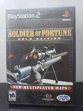 Soldier of Fortune: Gold Edition (Sony PlayStation 2, 2001) PS2 w Case