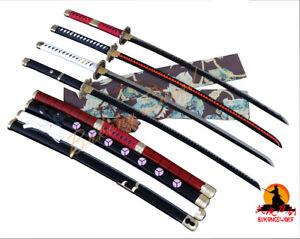 Full Tang Handmade Sword Anime Sword One Piece Sword  Roronoa Zoro Sharp Katana