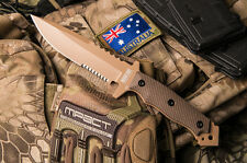 Hardcore Hardware MFK-04G2 DGC Gen 2 Tactical Knife Desert Tan Brown Kydex MFK04