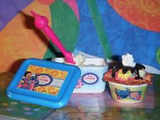 Rement Lilo Stitch Vanilla Ice Cream Sundae Lot fits Fisher Price Loving Family
