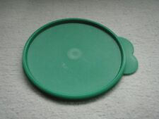 Tupperware Butterfly Tab Replacement Lid # 2541D  SIZE C GREEN NEW