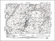 Biddulph, old map Staffordshire 1925: 7NW repro