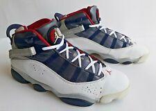 "Nike Air Jordan 6 Rings ""Olympic"" 2008 Size 10.5 (322992-161) ""Beijing"