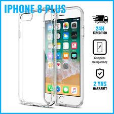 Transparent Cas Clear Flexible Gel Case Cover Etui Coque Hoesje iPhone 8 Plus