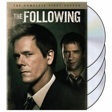 The Following: The Complete First Season (DVD, 2014, 4-Disc Set) Used