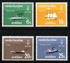 Dutch Antilles - 1967 Ships Mi. 174-77 MNH