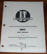 White 2-30 2-35 I&T Shop Manual W-3