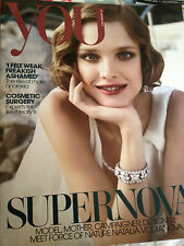 You Magazine January 2013 Natalia Vodianova Miranda Kerr Bettine Le Beau