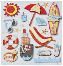 Hobbyfun 3453049 CREApop Sticker Urlaub  Sommer Strand Popup Aufkleber