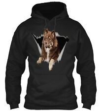 Sticker Car Finnish Lapphund Classic Pull 00006000 over Hoodie - Poly/Cotton Blend