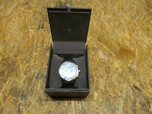 Bulova MarineStar Black & Gold Chronograph Dial Watch for Men ( LOT 310)