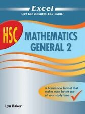 Excel HSC Mathematics General 2 by Lyn Baker - Pascal Press (Paperback)