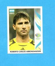 PANINI-GERMANY 2006-Figurina n.171- ABBONDANZIERI - ARGENTINA -NEW BLACK