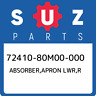 72410-80M00-000 Suzuki Absorber,apron lwr,r 7241080M00000, New Genuine OEM Part