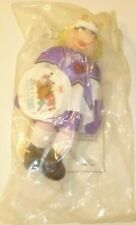 """Muppets plush Miss Piggy Hockey Player doll 11"""", McDonalds McD, in Package"""