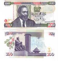UNC Kenya 100 Shillings (2010) P-48e