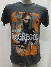 Conor McGregor Men's S, M Tribute Graphic T-Shirt MMA Reebok Gray UFC A14