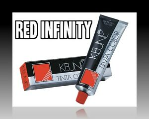 Keune Tinta RI Hair Color Red Infinity 60ml Tube Choose Shade ✰Free Shipping✰