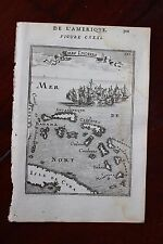 ✒ 1683 MANESSON MALLET Iles LUCAYES Bahamas Antilles Caraïbes
