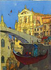 Moebius cartolina VENEZIA CELESTE: Ponte Scalzi
