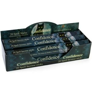 New Elements Confidence Spell Incense Sticks by Lisa Parker Pack of 20 sticks