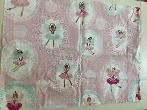 Pottery Barn Kids BALLERINA BALET Pink Standard PILLOW CASE