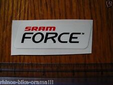 FORCE Sram Mountain Bike Bikes ROAD Shox STICKER DECAL