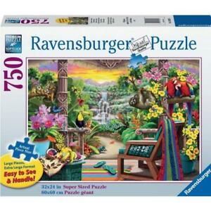 Ravensburger 16802-6 Tropical Retreat Puzzle 750pcLF Brand New