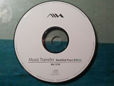 AIWA SONY SOFTWARE - MUSIC TRANSFER HARD DISC EDITION - HZ WS2000 - HZ DS2000 -