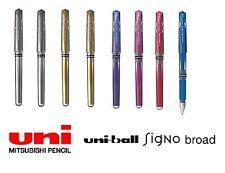 8x Mitsubishi Pencil Uni-ball Signo Metallic Colours UM-153 Pen Uniball