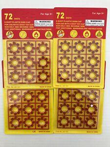 8 Shot Ring Cap Cards 6 Cards 72 Shots 432 Shots Total